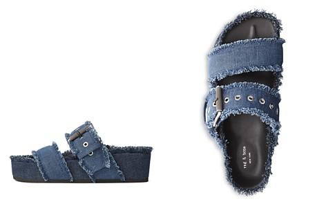 rag & bone Women's Evin Open-Toe Denim Platform Sandals - Bloomingdale's_2