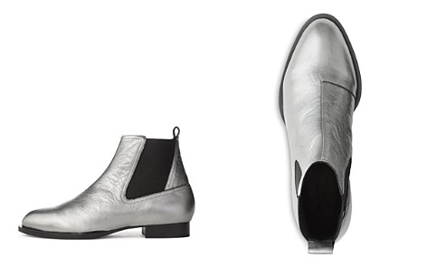rag & bone Women's Mason Pointed-Toe Metallic Leather Low-Heel Booties - Bloomingdale's_2
