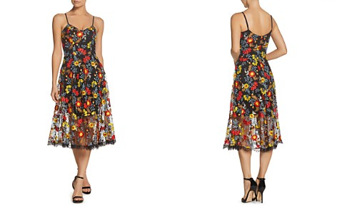 Dress the Population Uma Embroidered Midi Dress - Bloomingdale's_2