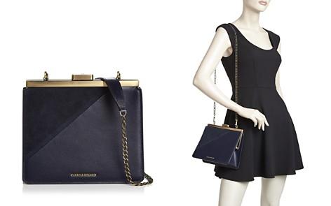 Tammy & Benjamin Medium Leather & Suede Crossbody Clutch - Bloomingdale's_2