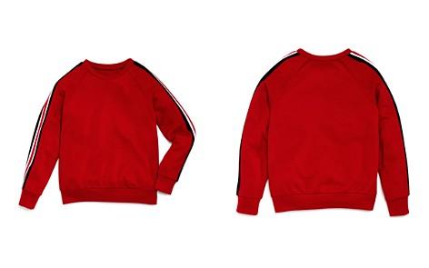 AQUA Girls' Athletic Stripe Sweater, Big Kid - 100% Exclusive - Bloomingdale's_2