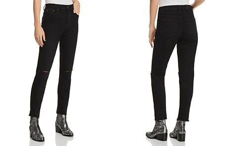 Pistola Nico Mom High-Rise Distressed Straight-Leg Jeans in Embers - Bloomingdale's_2