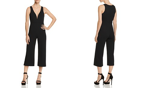 Sunset + Spring Deep V-Neck Cropped Jumpsuit - 100% Exclusive - Bloomingdale's_2
