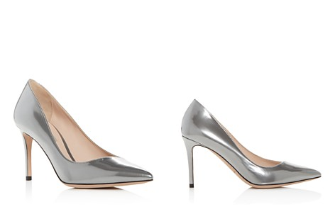 Giorgio Armani Women's Decollete Patent Leather Pointed Toe Pumps - Bloomingdale's_2