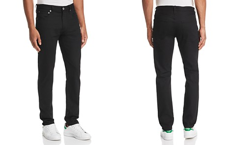 AGOLDE Blade Skinny Fit Jeans in Black Raw - Bloomingdale's_2