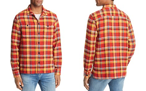 FRAME Flannel Shirt Jacket - Bloomingdale's_2