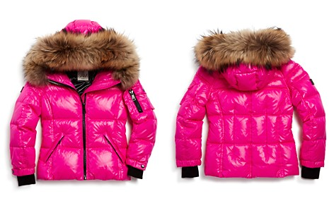 SAM. Girls' Blake Fur-Trimmed Down Jacket - Little Kid - Bloomingdale's_2