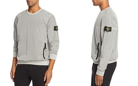 Stone Island Metallic Crewneck Sweatshirt - Bloomingdale's_2