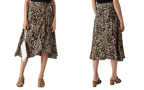 Whistles Leopard Print Wrap Skirt - Bloomingdale's_2