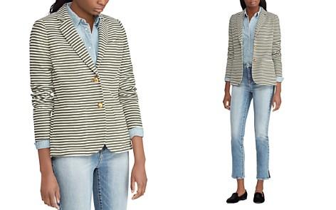 Lauren Ralph Lauren Pique Striped Blazer - Bloomingdale's_2