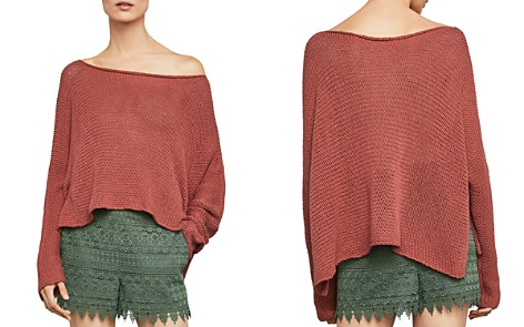 BCBGMAXAZRIA High/Low Boatneck Sweater - Bloomingdale's_2
