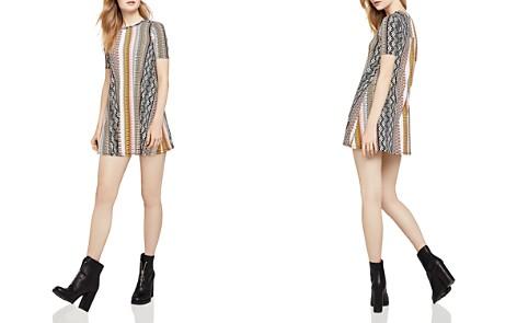 BCBGeneration Tropical A-Line Mini Dress - Bloomingdale's_2