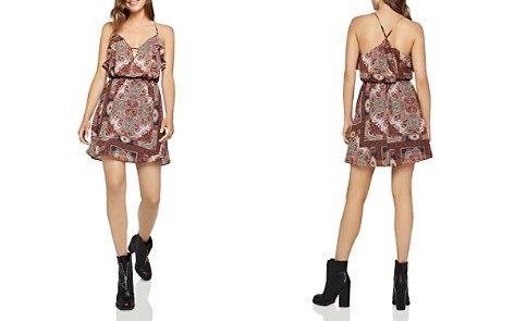 BCBGeneration Ruffled Paisley Print Dress - Bloomingdale's_2