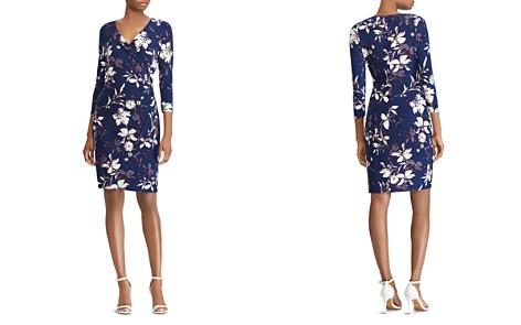 Lauren Ralph Lauren Faux-Wrap Floral Jersey Dress - Bloomingdale's_2