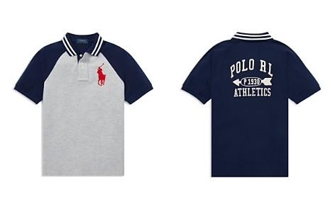 Polo Ralph Lauren Boys' Big Pony Cotton Mesh Polo Shirt - Big Kid - Bloomingdale's_2
