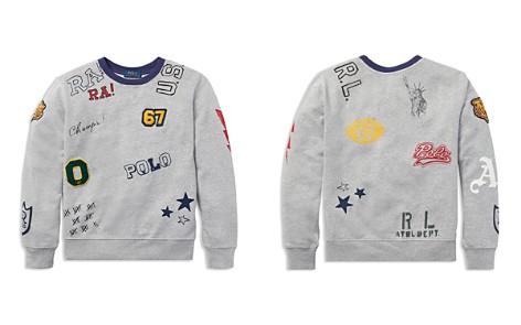 Polo Ralph Lauren Boys' Graphic Cotton Sweatshirt - Big Kid - Bloomingdale's_2