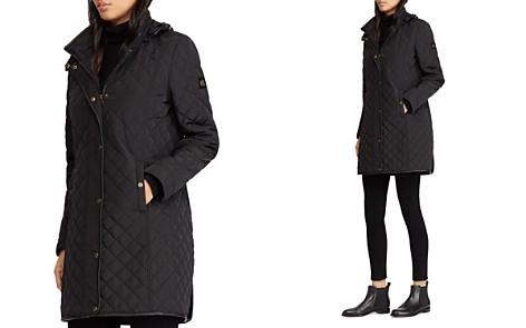 Black Ralph Lauren Quilted Backpack Bloomingdales