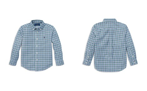 Polo Ralph Lauren Boys' Plaid Cotton Oxford Shirt - Little Kid - Bloomingdale's_2