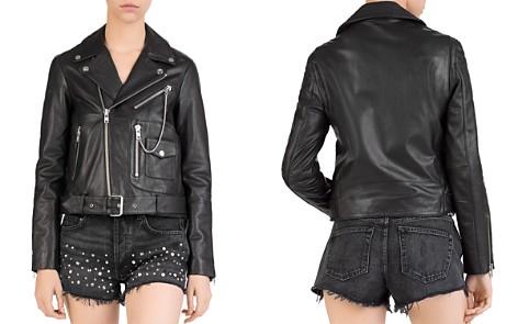 The Kooples Leather Moto Jacket - Bloomingdale's_2