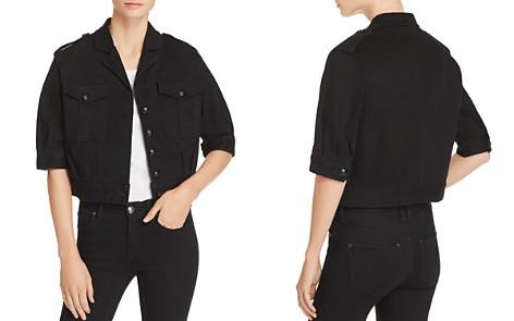 T Tahari Glorie Cropped Denim Jacket - Bloomingdale's_2