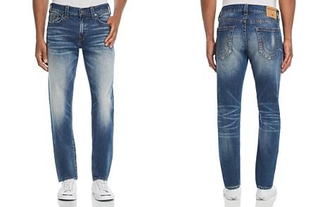 True Religion Geno Straight Slim Fit Jeans in Jetset Blue - Bloomingdale's_2