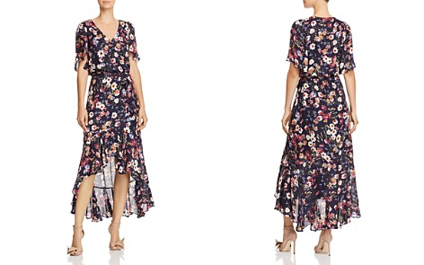 Parker Demi Floral Faux-Wrap Dress - Bloomingdale's_2