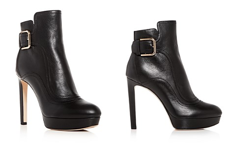 Jimmy Choo Women's Britney 115 Leather High-Heel Platform Booties - Bloomingdale's_2