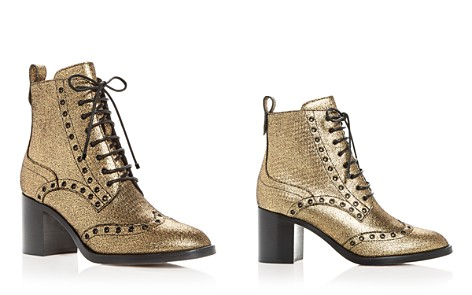 Jimmy Choo Women's Hanah 65 Metallic Lace Up Booties - Bloomingdale's_2