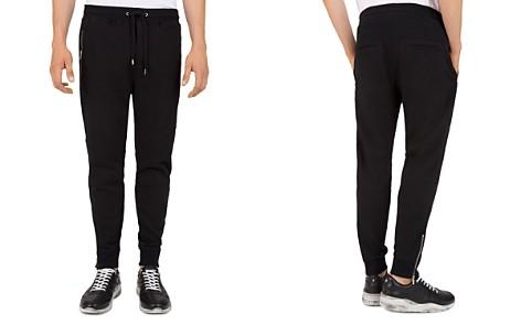 The Kooples Zip Moto Regular Fit Sweatpants - Bloomingdale's_2