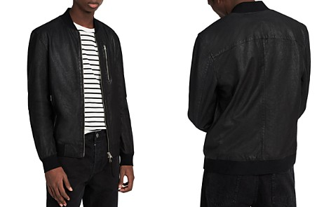 ALLSAINTS Kino Leather Regular Fit Bomber Jacket - Bloomingdale's_2