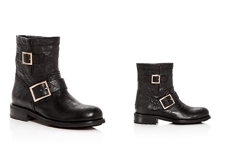 Jimmy Choo Women's Youth Leather Moto Boots - Bloomingdale's_2