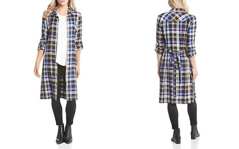Karen Kane Plaid Shirt Dress - Bloomingdale's_2