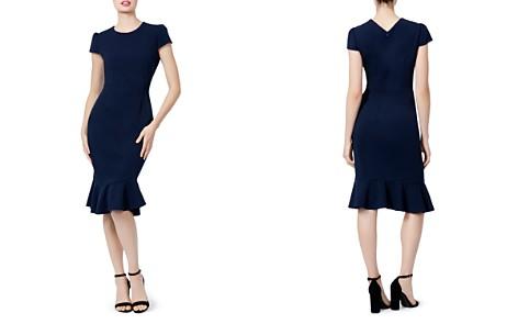 Betsey Johnson Puff-Sleeve Scuba Crepe Dress - Bloomingdale's_2