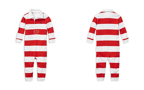 Ralph Lauren Boys' Striped Cotton Rugby Coverall - Baby - Bloomingdale's_2