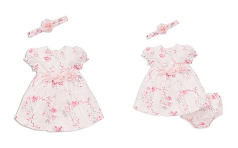 Little Me Girls' Floral Dress, Headband & Bloomers Set - Baby - Bloomingdale's_2