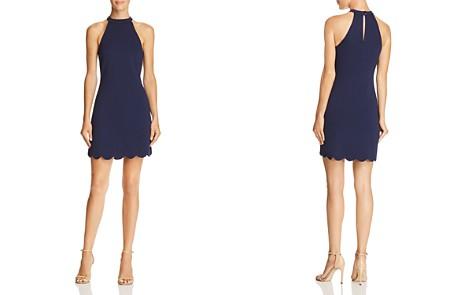 AQUA Scalloped Shift Dress - 100% Exclusive - Bloomingdale's_2