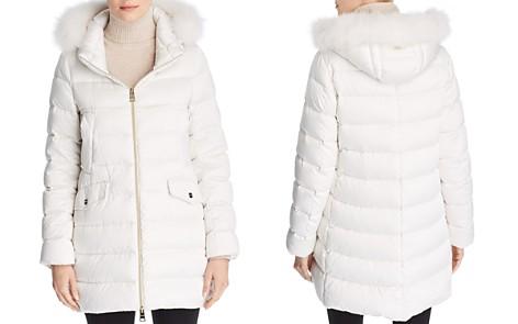 Herno Bonbon Fox Fur Trim A-Shape Down Coat - Bloomingdale's_2