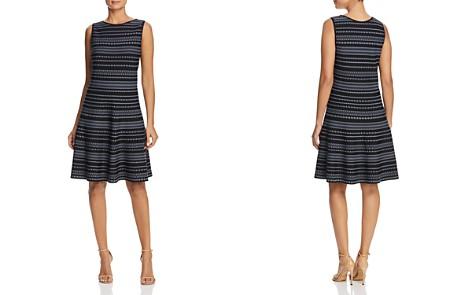 NIC+ZOE Geo Stripe Twirl Dress - Bloomingdale's_2