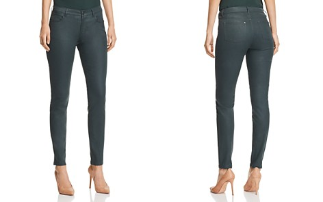 Lafayette 148 New York Mercer Coated Skinny Jeans in Spruce - Bloomingdale's_2