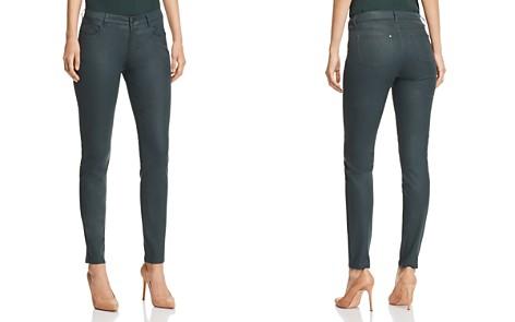 Lafayette 148 New York Mercer Coated Skinny Jeans in Spruce - Bloomingdale's_2