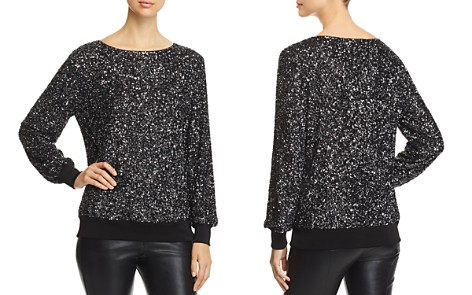 Lafayette 148 New York Nessa Sequined Blouse - Bloomingdale's_2