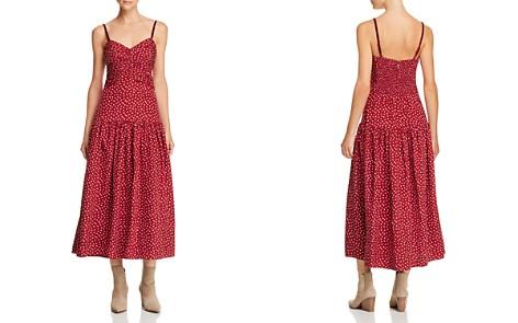 Rebecca Taylor Sleeveless Silk Heart-Print Dress - Bloomingdale's_2