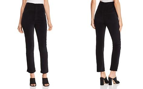 Rebecca Taylor Velveteen Straight-Leg Pants - Bloomingdale's_2