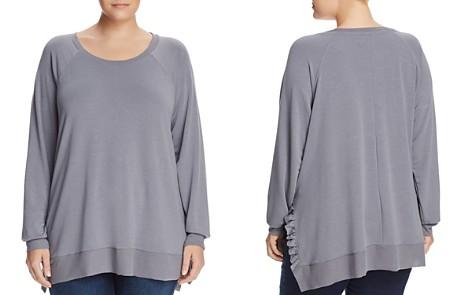 Cupio Plus Frilly Ruffle Trim Sweatshirt - Bloomingdale's_2