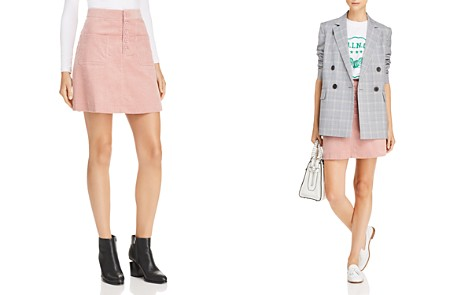 Lost + Wander Alicia Corduroy Mini Skirt - Bloomingdale's_2