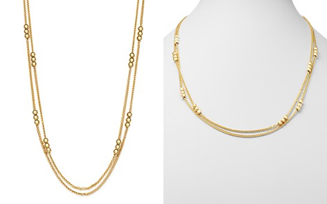 "Bloomingdale's Layered Bead Double Strand Necklace in 14K Yellow Gold, 24"" - 100% Exclusive_2"