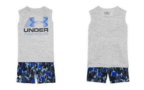 Under Armour Boys' Logo Tank & Camo-Print Shorts Set - Little Kid - Bloomingdale's_2