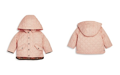 Burberry Girls' Ilana Quilted Hooded Jacket - Baby - Bloomingdale's_2