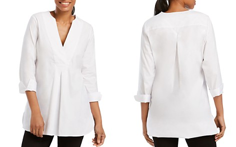 Foxcroft Vaughn Three-Quarter Sleeve Tunic - Bloomingdale's_2