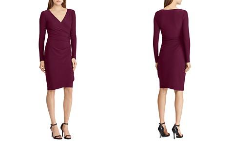 Lauren Ralph Lauren Faux-Wrap Jersey Dress - Bloomingdale's_2